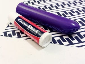 [Image: the We-Vibe Tango is a tiny vibrator with big power— its about as thick as a tube of lip balm.]