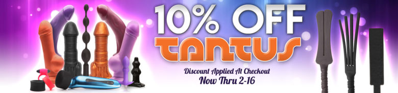 10% off Tantus Valentine's Day sale