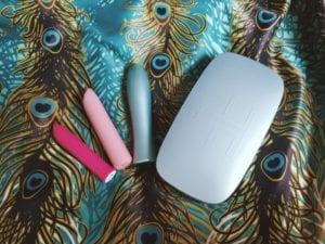 [Image: FemmeFun Bougie Bullet vs. Blush Novelties Exposed Nocturnal Bullet vs. We-Vibe Tango powerful bullet vibrators comparison]