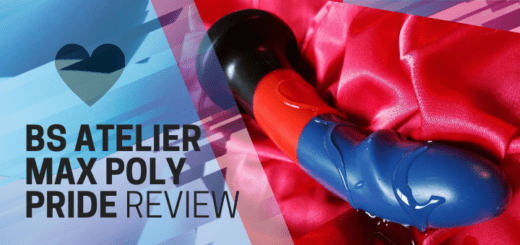 BS Atelier Max Poly Pride striped silicone dildo review 4