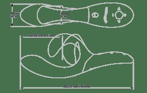 [Image: We-Vibe Nova length and width diagram]
