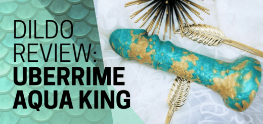 Uberrime Aqua King silicone fantasy dildo review featured image banner