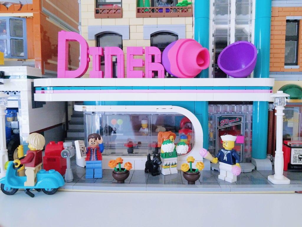 [Image: Blush Novelties Aria Flutter flickering vibrator among Lego city]