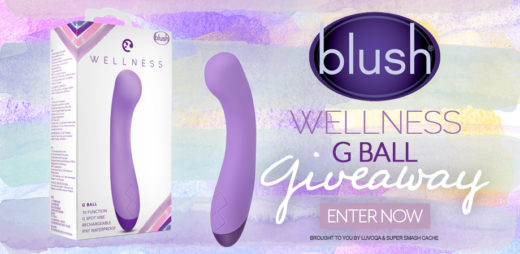 GIVEAWAY TIME: Win a Blush Novelties Wellness G Ball vibrator! 10