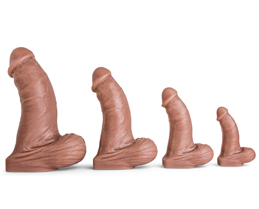 Mr. Hankey's Toys Topher Michels Medium review: soft but HUGE silicone dildo 1